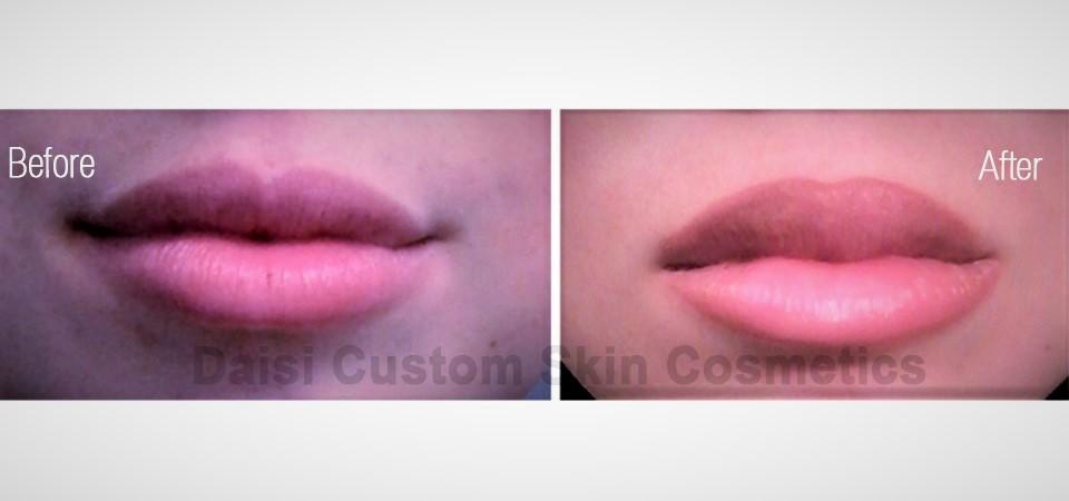 lip tattoo, permanent makeup lip color